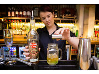 Full and Part Time Bartender/ Waiter - Up to £7.70 per hour + tips - Baroosh - Cambridge