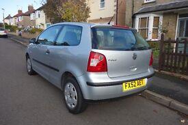 Volkswagen Polo   1.2l petrol   2002   126,000 miles   Silver 3 Door   Manual