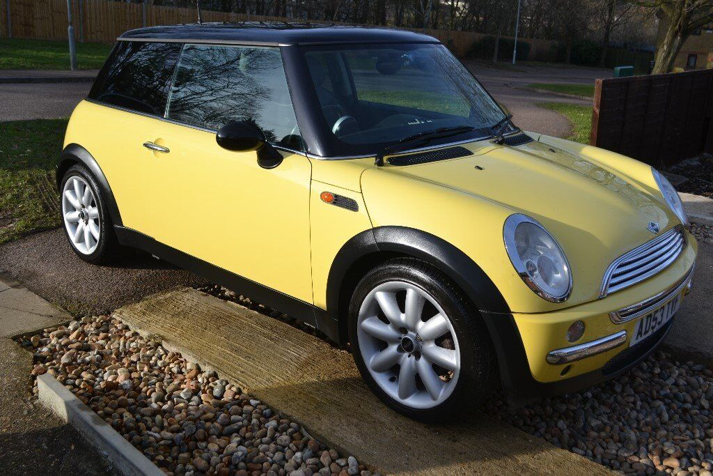 2004 Mini One Cooper 1 6cc Yellow