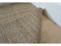 Large IKEA natural rug (LOHALS)