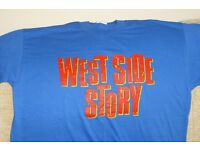 West Side Story T Shirt, also Picture on the Back,see Other Photo,size Large,NEW,100% Cotton, Histon