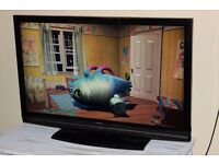 Hitachi 42 Inch Full HD 1080p Freeview HD LCD TV. USB, Remote. Immaculate, BARGAIN!! NO OFFERS