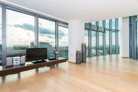 **#AUSTONISHING & BIG TWO BED #WEST INDIA QUAY #24HR CONCIERGE #DESIGER FURNISHED #NOT TO MISS!!**