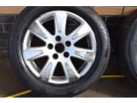 volkswagen passat alloys and tyres 215/55/16 tyres firestone tyres