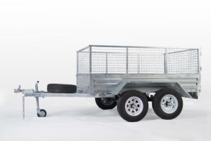 SPECIAL!!TANDEM 8*5 GALVANIZED TRAILER HEAVY DUTY$2650 DRIVE-AWAY Wetherill Park Fairfield Area Preview