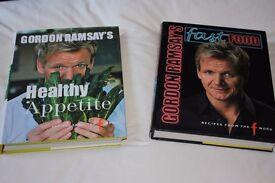 GORDEN RAMSEY COOKERY BOOKS.
