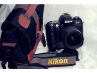 Nikon F80 film SLR. complete. Perfect for student.