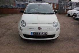 Fiat 500 1.2 Pop (s/s) 3dr 12 Months Warranty Parts & Labour 8657 Mileage
