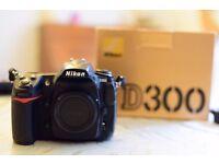 Nikon D300 DSLR - EXCELLENT CONDITION, LESS THAN 19.5K SHOTS