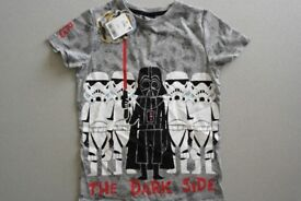 NEW Star Wars boys t-shirt age 6 years
