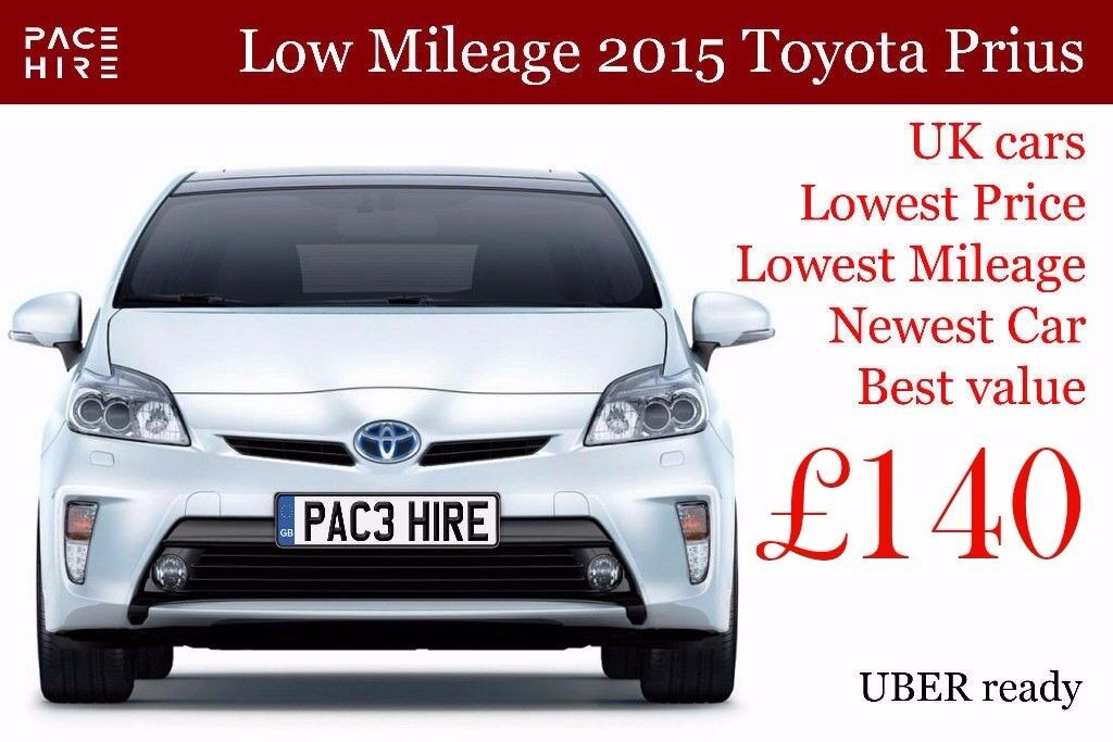 Est Pco Car Hire Uber Brand New Toyota Prius 2017 2016 And