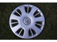 vauxhall wheel trim - single