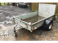 Ifor Williams P6E trailer, Flotation Tyres & Rear Ramp