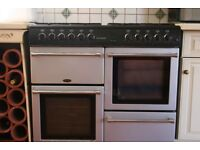 Countrychef 100DF Slot-in Dual Fuel Range Cooker. NEW PRICE AS IT NEEDS TO GO.