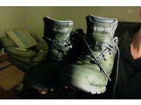 Firetrap used Rhino boots UK size 9 00, Navy Grey/Black G001 UK size 9 Euro 43