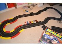 Scalextrix - 2 Sets ; Lots of Track and 6 Cars - Spares and Repairs