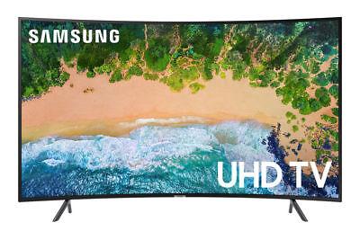 "Samsung 65"" Class RU7300 Curved Smart 4K UHD TV  UN65NU7300F"