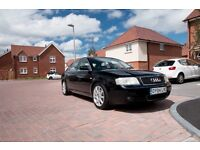 AUDI A6 SALOON 2004 BLACK 1.8T PETROL MANUAL 150BHP