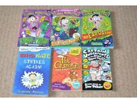 Children's reading books - Big nate, Fleabag monkeyface