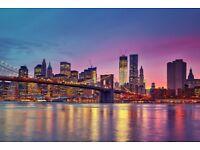 2 x return flight tickets to New York (JFK) from London Gatwick