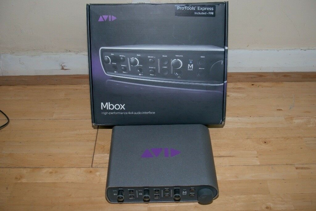 Avid Mbox 3 Audio Interface In Mitcham London Gumtree