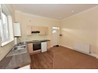(Southampton Way)Well presented newly decorated studio flat with a separate sleeping room and patio.
