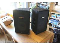 Carlsbro AT12 150S passive PA speakers