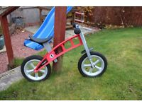 Lovely Red FirstBike Balance Bike (VGC)