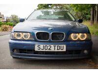 BMW, 5 SERIES, Saloon, 2002, Semi-Auto, 2497 (cc), 4 doors