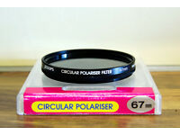 Jessops 67mm Circular Polarising Filter