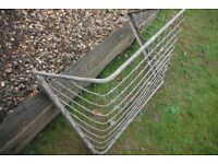 Galvanised hay rack