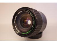 Hanimex 28-70mm Macro Focusing Zoom lens