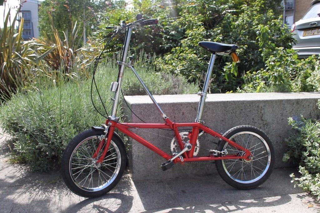 Dahon California 3 Speed Vintage Folding Bike In Great Condition