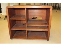 Solid Wood Shelving Unit in Good Condition