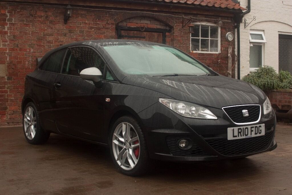 seat ibiza 2 0 tdi cr fr sport coupe 2010 in lincoln. Black Bedroom Furniture Sets. Home Design Ideas