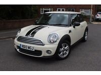 MINI Hatch 1.6 One Hatchback 3dr Petrol One Lady Owner From New, Full Main Dealer Service History.