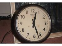 Vintage Smiths Sectric large wall clock
