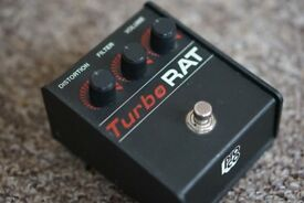ProCo Turbo Rat Guitar Distortion Effects Pedal