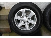 Ford Ranger Alloys and Tyres x4