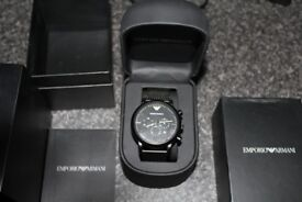Armani AR1968 Watch mint condition 7 Months old RRP £140
