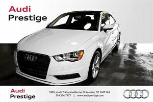 2015 Audi A3 1.8T ONLY 38KMS