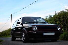 VW GOLF GTI MK2 8V 3DR BLACK 1988