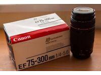 Canon 75-300mm F/4.5-5.6