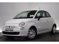 FIAT 500 1.2 POP 3d 69 BHP (white) 2013