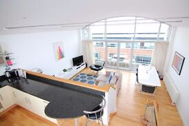 Stunning duplex apartment located in city centre with secure parking.