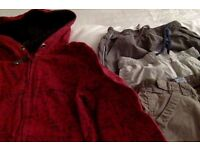 Boys Hoody and Trousers x3 Age 8-9 years