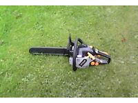 PETROL LAWNMOWER AND STRIMMER AND CHAINSAW