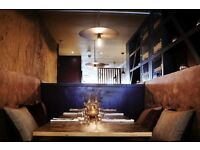 Experienced Commis Chef and Demi Chef for London's most exciting new restaurant