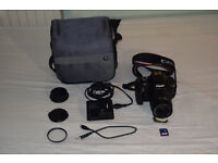 Canon 1100D Starter Bundle. Excellent Condition.