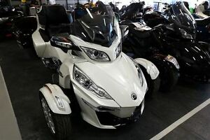 2016 can-am Spyder RT Limited $87.92/week (120 months@7.99%) + t